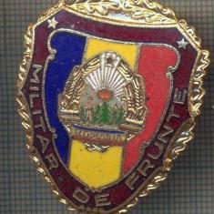 ZET 765 INSIGNA,, MILITAR DE FRUNTE