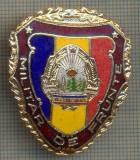 "ZET 764 INSIGNA ,,MILITAR DE FRUNTE"" - PERIOADA RSR - PENTRU NOSTALGICI"