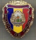 "ZET 732 INSIGNA ,,MILITAR DE FRUNTE"" - PERIOADA RSR - PENTRU NOSTALGICI"