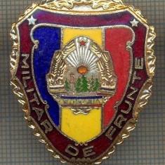 ZET 732 INSIGNA,, MILITAR DE FRUNTE