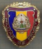 "ZET 738 INSIGNA ,,MILITAR DE FRUNTE"" - PERIOADA RSR - PENTRU NOSTALGICI"