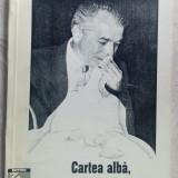 ION BARBU-CARTEA ALBA, RECE, SEACA SI FARA SIFON A GUVERNARII VACAROIU(ED. ZIUA)