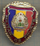 "ZET 773 INSIGNA ,,MILITAR DE FRUNTE"" - PERIOADA RSR - PENTRU NOSTALGICI"