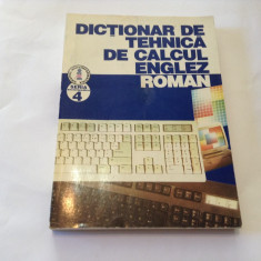 Dictionar de tehnica de calcul englez-roman,R3