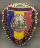 "ZET 741 INSIGNA ,,MILITAR DE FRUNTE"" - PERIOADA RSR - PENTRU NOSTALGICI"