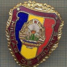 ZET 712 INSIGNA,, MILITAR DE FRUNTE