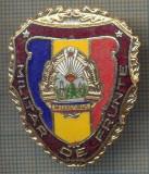 "ZET 735 INSIGNA ,,MILITAR DE FRUNTE"" - PERIOADA RSR - PENTRU NOSTALGICI"