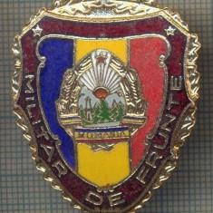 ZET 735 INSIGNA,, MILITAR DE FRUNTE