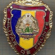 ZET 727 INSIGNA,, MILITAR DE FRUNTE