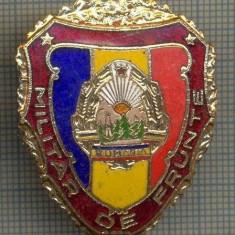ZET 724 INSIGNA,, MILITAR DE FRUNTE