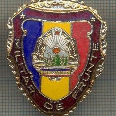ZET 697 INSIGNA,, MILITAR DE FRUNTE