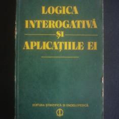 LOGICA INTEROGATIVA SI APLICATIILE EI - Filosofie