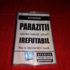 Parazitii - Irefutabil - Muzica Hip Hop Altele, Casete audio