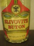 Rare tuica slivovitz buton, 1950/60,  cl 75 - gr 45