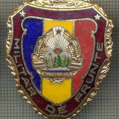 ZET 691 INSIGNA,, MILITAR DE FRUNTE