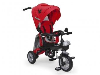 Tricicleta Copii Moni Fenix Rosu foto mare