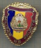 "ZET 706 INSIGNA ,,MILITAR DE FRUNTE"" - PERIOADA RSR - PENTRU NOSTALGICI"