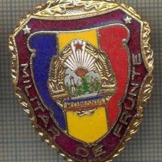ZET 726 INSIGNA,, MILITAR DE FRUNTE