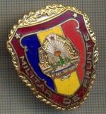 "ZET 744 INSIGNA ,,MILITAR DE FRUNTE"" - PERIOADA RSR - PENTRU NOSTALGICI"