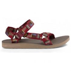 Sandale pentru barbati Teva Original Universal Peaks Fired Brick Webbing (TVA-1004006-PFBRC) - Sandale barbati Teva, Marime: 44, 45, Culoare: Rosu