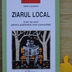 Ziarul local Jock Lauterer