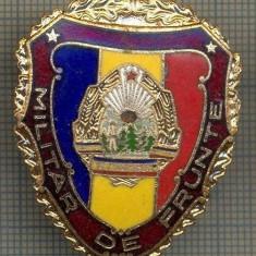 ZET 713 INSIGNA,, MILITAR DE FRUNTE
