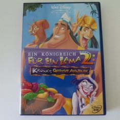 Ein Konigreich fur lama 2 - dvd - Film animatie Altele, Engleza