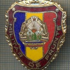 ZET 690 INSIGNA,, MILITAR DE FRUNTE