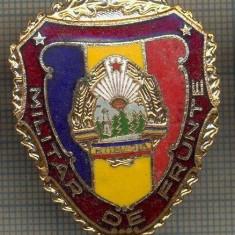 ZET 728 INSIGNA,, MILITAR DE FRUNTE