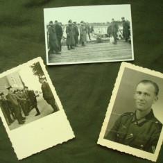 Lot foto militare germane, ofiteri si soldati din WH/3 Reich/WW2/nazi/colectie - Fotografie veche