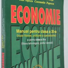 Manual economie - Manual clasa XI a - 2000 - Teste admitere facultate