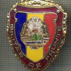 ZET 695 INSIGNA,, MILITAR DE FRUNTE