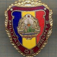 ZET 702 INSIGNA,, MILITAR DE FRUNTE
