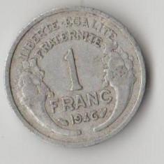 Moneda 1 franc 1946 - Franta, Europa