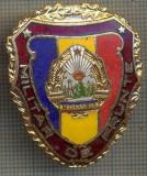 "ZET 739 INSIGNA ,,MILITAR DE FRUNTE"" - PERIOADA RSR - PENTRU NOSTALGICI"
