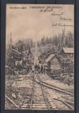 VOINESTI COVASNA  FUNICULARUL  GHIULAFALA  JUDETUL  TREI SCAUNE CIRCULATA 1924, Necirculata, Printata