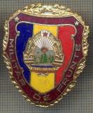 "ZET 771 INSIGNA ,,MILITAR DE FRUNTE"" - PERIOADA RSR - PENTRU NOSTALGICI"