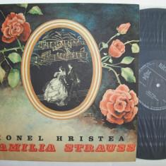 Disc vinil teatru IONEL HRISTEA - Familia Strauss (EXE 03428) - Muzica pentru copii electrecord