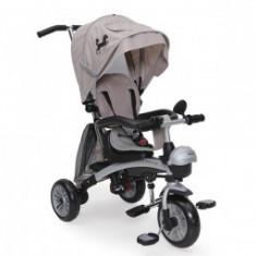 Tricicleta Copii 1-5 Ani Moni Mustang Eva Beige