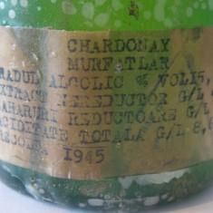 Vin Murfatlar Chardonnay 1945 - Vinde Colectie, Aroma: Demi-sec, Sortiment: Alb, Zona: Romania 1900 - 1950