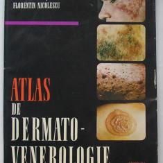 Conu, Coltoiu si Nicolescu - Atlas De Dermato-Venerologie - Carte Dermatologie si venerologie