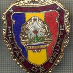 ZET 756 INSIGNA,, MILITAR DE FRUNTE