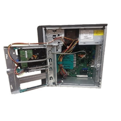 Server Fujitsu Primergy TX100 S2, Intel Core i3 540 3.06 Ghz, 2 GB DDR3 ECC, 250 GB SATA, DVDRW foto
