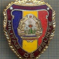ZET 699 INSIGNA,, MILITAR DE FRUNTE
