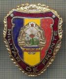 "ZET 696 INSIGNA ,,MILITAR DE FRUNTE"" - PERIOADA RSR - PENTRU NOSTALGICI"