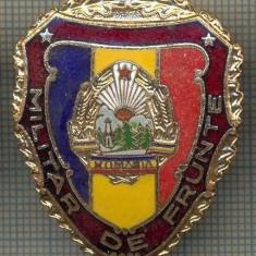 ZET 696 INSIGNA,, MILITAR DE FRUNTE
