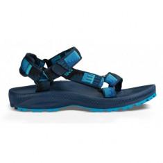 Sandale pentru fete Hurricane 2 Peaks Bright Blue/Grey (TVA-110375J-PBBG-W) - Sandale dama Teva, Culoare: Albastru, Marime: 38, 39, 40