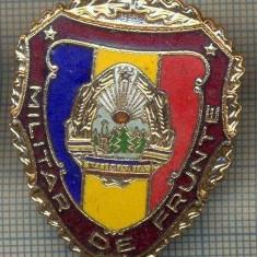 ZET 746 INSIGNA,, MILITAR DE FRUNTE