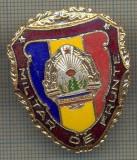 "ZET 762 INSIGNA ,,MILITAR DE FRUNTE"" - PERIOADA RSR - PENTRU NOSTALGICI"