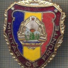 ZET 740 INSIGNA,, MILITAR DE FRUNTE